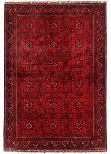 Dark Red Khal Mohammadi 6' 5 x 9' 2 - No. 68926