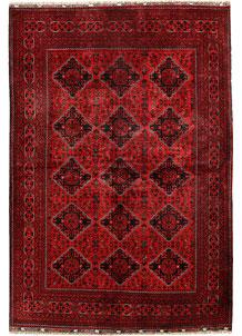Dark Red Khal Mohammadi 6' 4 x 9' 3 - No. 68927