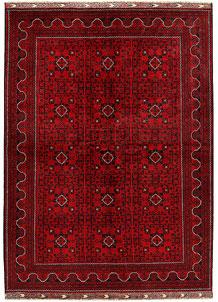 Dark Red Khal Mohammadi 6' 5 x 9' 6 - No. 68931