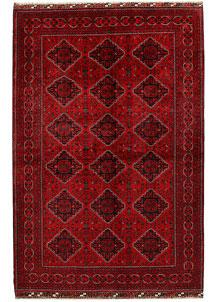Dark Red Khal Mohammadi 6' 6 x 9' 9 - No. 68932