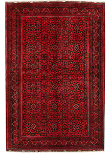 Dark Red Khal Mohammadi 6' 7 x 9' 10 - No. 68933