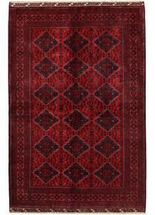 Dark Red Khal Mohammadi 6' 4 x 9' 5 - No. 68934