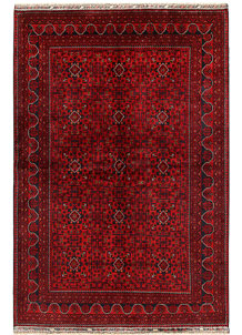 Dark Red Khal Mohammadi 6' 6 x 9' 6 - No. 68935