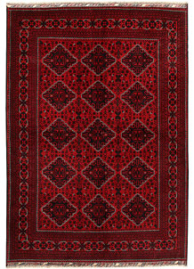 Dark Red Khal Mohammadi 6' 6 x 9' 7 - No. 68936