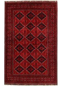 Dark Red Khal Mohammadi 6' 4 x 9' 11 - No. 68938