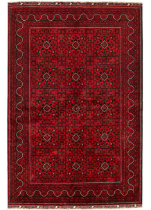 Dark Red Khal Mohammadi 6' 5 x 9' 8 - No. 68939