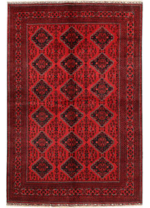 Dark Red Khal Mohammadi 6' 5 x 9' 5 - No. 68940