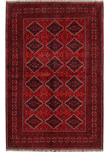Dark Red Khal Mohammadi 6' 6 x 9' 11 - No. 68942