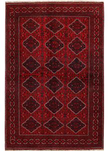 Dark Red Khal Mohammadi 6' 4 x 9' 5 - No. 68943