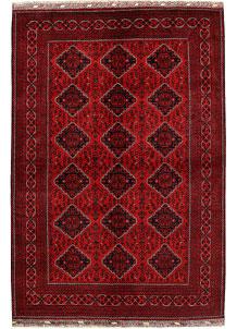 Dark Red Khal Mohammadi 6' 6 x 9' 8 - No. 68944