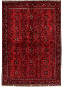 Dark Red Khal Mohammadi 6' 5 x 9' 4 - No. 68946