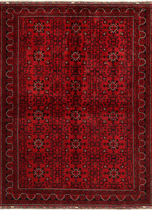 Dark Red Khal Mohammadi 6' 6 x 9' 4 - No. 68947