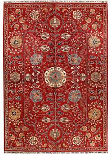Firebrick Kazak 6' 6 x 9' 5 - No. 68958