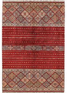 Firebrick Kazak 6' 11 x 10' 2 - No. 68966