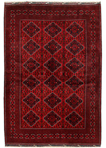 Dark Red Khal Mohammadi 6' 5 x 9' 5 - No. 68969