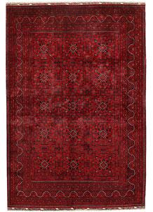 Dark Red Khal Mohammadi 6' 5 x 9' 6 - No. 68970