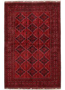 Dark Red Khal Mohammadi 6' 5 x 9' 9 - No. 68971