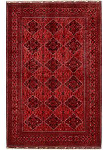 Dark Red Khal Mohammadi 6' 4 x 9' 10 - No. 68972