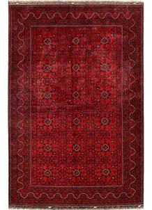 Dark Red Khal Mohammadi 6' 4 x 9' 8 - No. 68973