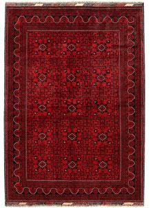Dark Red Khal Mohammadi 6' 6 x 9' 2 - No. 68974