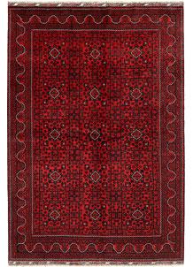 Dark Red Khal Mohammadi 6' 6 x 9' 5 - No. 68976
