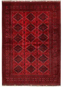Dark Red Khal Mohammadi 6' 6 x 9' 4 - No. 68977