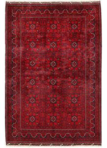 Dark Red Khal Mohammadi 6' 5 x 9' 5 - No. 68978