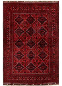 Dark Red Khal Mohammadi 6' 5 x 9' 5 - No. 68979