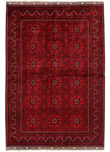 Dark Red Khal Mohammadi 6' 5 x 9' 4 - No. 68981