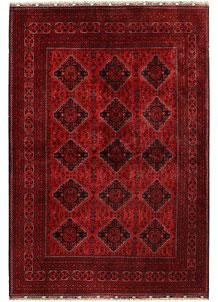 Dark Red Khal Mohammadi 6' 7 x 9' 5 - No. 68982