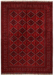 Dark Red Khal Mohammadi 8' 2 x 11' 4 - No. 68984