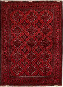 Dark Red Khal Mohammadi 8' 2 x 11' 1 - No. 68987