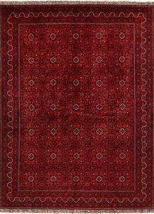 Dark Red Khal Mohammadi 9' 8 x 12' 11 - No. 68991
