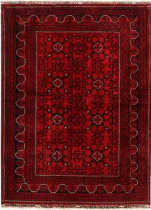 Dark Red Khal Mohammadi 5' 4 x 7' 5 - No. 68995