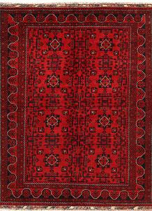 Dark Red Khal Mohammadi 5' x 6' 5 - No. 68996