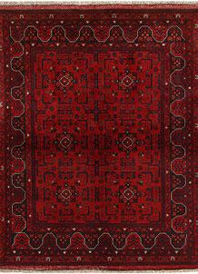 Dark Red Khal Mohammadi 5' x 6' 4 - No. 69037