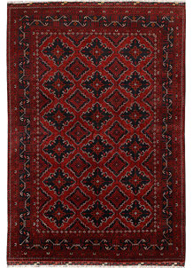 Dark Red Khal Mohammadi 6' 3 x 9' 4 - No. 69039