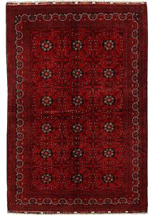 Dark Red Khal Mohammadi 6' 4 x 9' 7 - No. 69040