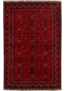 Dark Red Khal Mohammadi 6' 5 x 9' 8 - No. 69041
