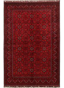 Dark Red Khal Mohammadi 6' 6 x 9' 10 - No. 69042