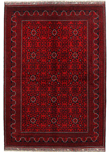 Dark Red Khal Mohammadi 6' 8 x 9' 6 - No. 69043