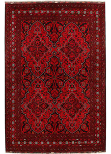 Dark Red Khal Mohammadi 6' 7 x 9' 10 - No. 69044