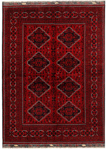 Dark Red Khal Mohammadi 5' 6 x 7' 5 - No. 69045