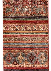 Multi Colored Kazak 2' 7 x 8' 6 - No. 69050