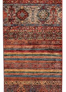 Multi Colored Kazak 2' 7 x 10' - No. 69052