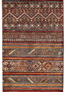Multi Colored Kazak 2' 11 x 7' 10 - No. 69054