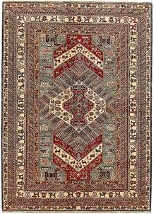 Multi Colored Kazak 5' 9 x 8' - No. 69080