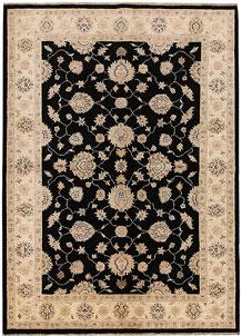 Black Ziegler 5' 8 x 7' 10 - No. 69095