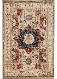 Bisque Mamluk 6' 7 x 9' 10 - No. 69110