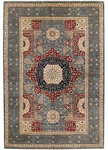 Multi Colored Mamluk 6' 6 x 9' 8 - No. 69113